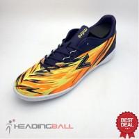 Sepatu Futsal Mitre Original Flare IN Navy Hex Orange T01040014 BNIB