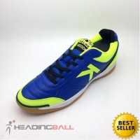Sepatu Futsal Kelme Original K-Strong Royal Blue Lime 55787 BNIB
