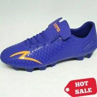 Sepatu Bola Specs Accelerator Exocet FG (Deep Blue/Mango Orange)