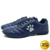 Sepatu Futsal Kelme Power Grip (Navy/Silver)