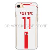 Tunisia Soccer Jersey Piala Dunia Custom Phone Case