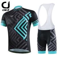 Jersey Set Cheji Blue Prism (Baju+Bib)