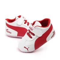 4pc@42.500 IMPORTED PUMA RED PREWALKER sepatu bayi grosir sepatu anak