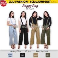 Baggy Bag Jumpsuit Jumper Panjang CJS131 - DENIM BLUE