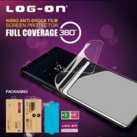 Log On Anti Shock Screen Protector Anti Gores Samsung A8 2018 (Depan)