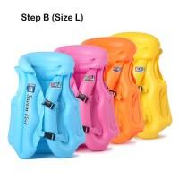 Rompi Pelampung Renang Anak step B Size L Swim Vest Ban Jaket