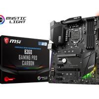 MSI B360 GAMING PRO CARBON (Intel B360, LGA 1151, DDR4) COFFEELAKE