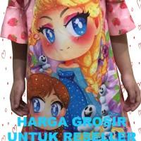 Baju Dress Anak Perempuan Frozen Mute Blink2   1 MTD-01