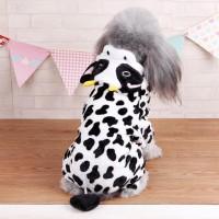 Baju Anjing & Kucing / Kostum Anjing / Jumpsuit Anjing Motif Sapi (Cow