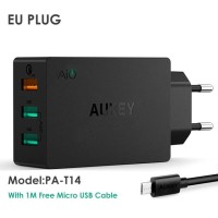Aukey Charger USB 3 Port Quick Charge 3.0 PA - T14