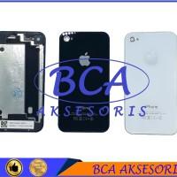 BACKDOOR IPHONE 4 - 4G - BACK COVER - DOOR - TUTUP BELAKANG HANDPHONE