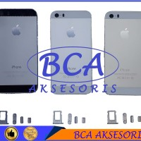 CASING IPHONE 5 5S / BACK COVER FULL HOUSING/ BACK DOOR GOLD