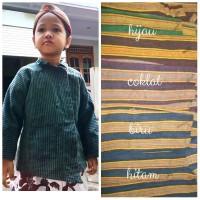 baju adat jawa surjan lurik anak