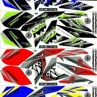 Sticker / Striping Variasi Vixion New 2013-2016 NVL/NVA (SHARK)