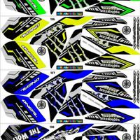 Sticker / Striping Variasi Vixion New 2013-2016 (NVL & NVA)