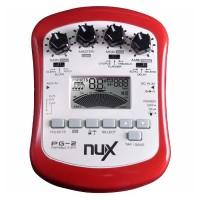 NUX Pedal Efek Gitar Portable Pre-Amp 6 Modulation - PG-2