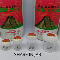 AZTEC Secret Indian Healing Clay Mask share on jar 40 gr