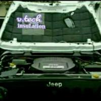 Jeep CJ7 Peredam Suara dan Panas kap Mesin mobil