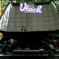Jeep CJ7 Peredam V-Tech kap Mesin mobil