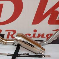 knalpot racing yamaha scorpio z spark fullsystem
