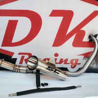 terbaru!! knalpot racing yamaha new vixion project super