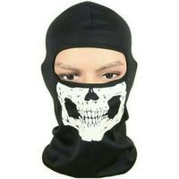 Masker Ninja Tengkorak Tahang / Masker Motor Rahang / Balaclava