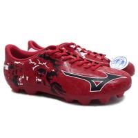 Sepatu Bola Mizuno Ryuou MD - Chinese Red/Black/White