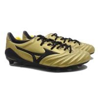 Sepatu Bola Mizuno Morelia Neo II MD - Black/Gold