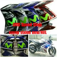 Sayap samping vixion new NVL 2013-2015 plastik ABS kuat halus plus sen