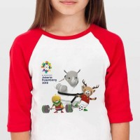 Kaos Baju Tshirt Anak Asian Games 2018 AG78