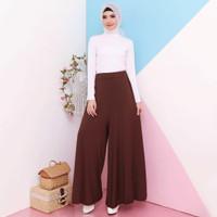 Celana Kulot Panjang Wanita Jersey Murah Muslim 6942