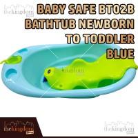 Baby Safe BT02 B Bath Tub Newborn Blue Bak Mandi Anak Bayi Biru
