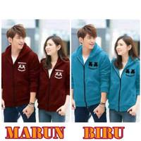Jaket Couple Marshmello - Pakaian Fashion Baju Kaos Berpasangan Murah