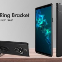 Casing Autofocus Soft case Magnetic Ring Samsung Galaxy Note 9