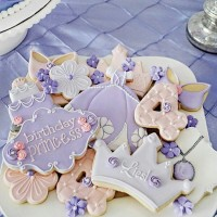 Butter cookies dengan icing | kukis hias sofia the first