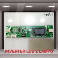 LCD INVERTER UNIVERSAL BOARD CCFL 2 LAMPU / BALAST LCD NEON 2 LAMPU