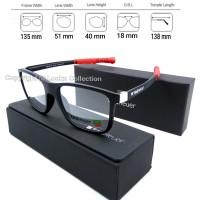Kacamata Tagheuer magnetic Temple paket frame free lensa radiasi