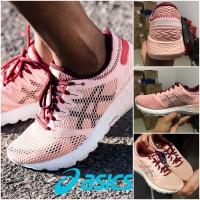 Sepatu Original Asics Running Roadhawk FF 2 Maroon Shoe Sport