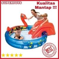 PROMO TERMURAH Kolam Renang Anak Ular - Viking Pool Perosotan Bestway