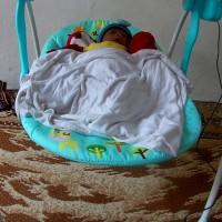 Babyelle Swing Comfort Ayunan Bayi Baru Lahir / Tempat Tidur Getar