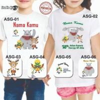 Baju / Kaos Anak/Dewasa /Laki-Laki / Perempuan Design Asian Games 2018