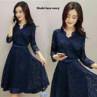 Dress Lace Shabie