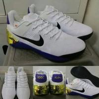 Sepatu Basket Nike Kobe AD White Purple Gold Putih Ungu Emas