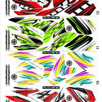 Sticker Striping Variasi New Vixion Advance 2013-2014 NVL (AIR BRUSH)