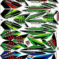 Sticker / Striping Variasi Racing New Vixion Lighting 2013-2017 / NVL