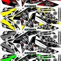 Sticker Striping Variasi New Vixion Lighting 2013-2017 NVL (THE WOLF)
