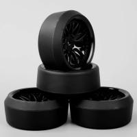 D06 RC drift tires 5 degree - Ban RC velg 1:10 black