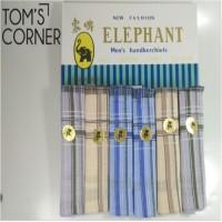 sapu tangan merk gajah | saputangan elephant | lap muka | handuk