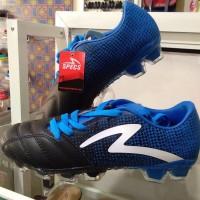 Sepatu bola specs equinox fg black/tulip blue/white