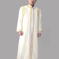 Baju jubah luar habaib nikah india pria